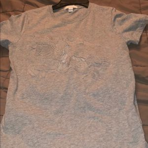 Burberry t-shirt with a large emblem on the front